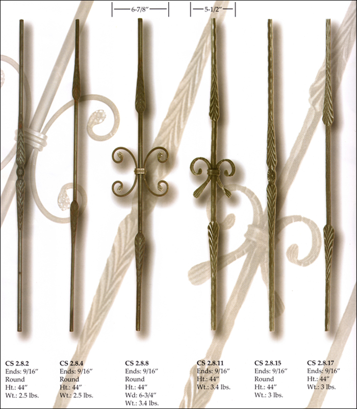 Feather Forged Balusters