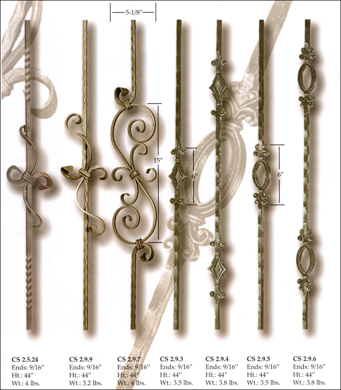 Hand Forged Balusters